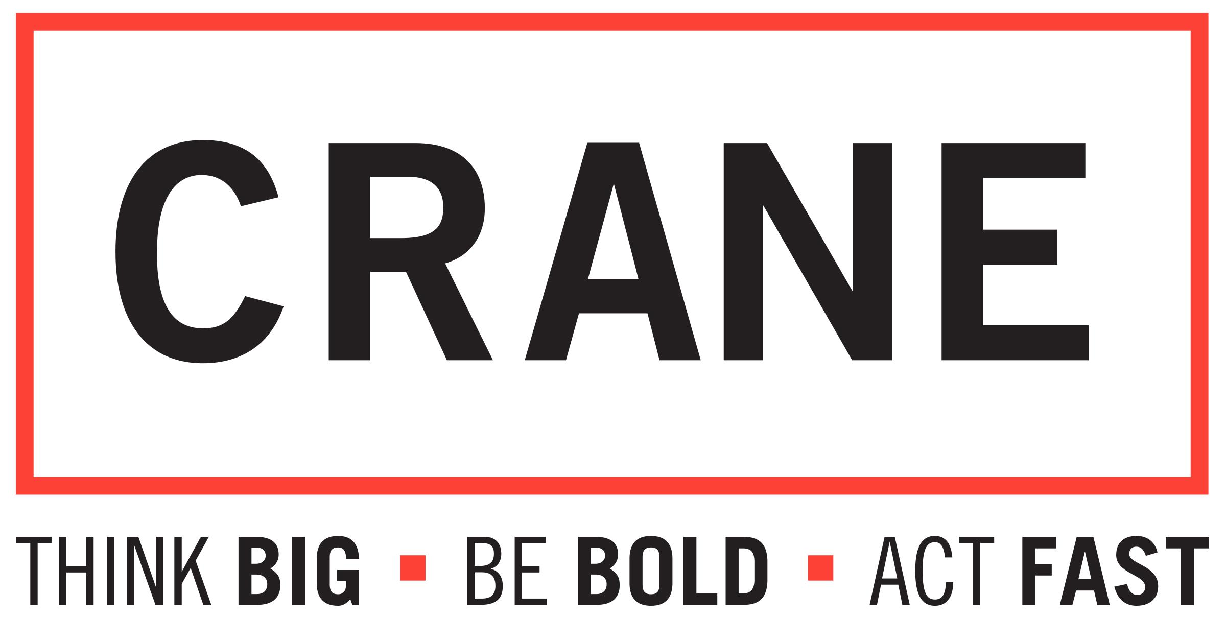 Crane Logo with Tag